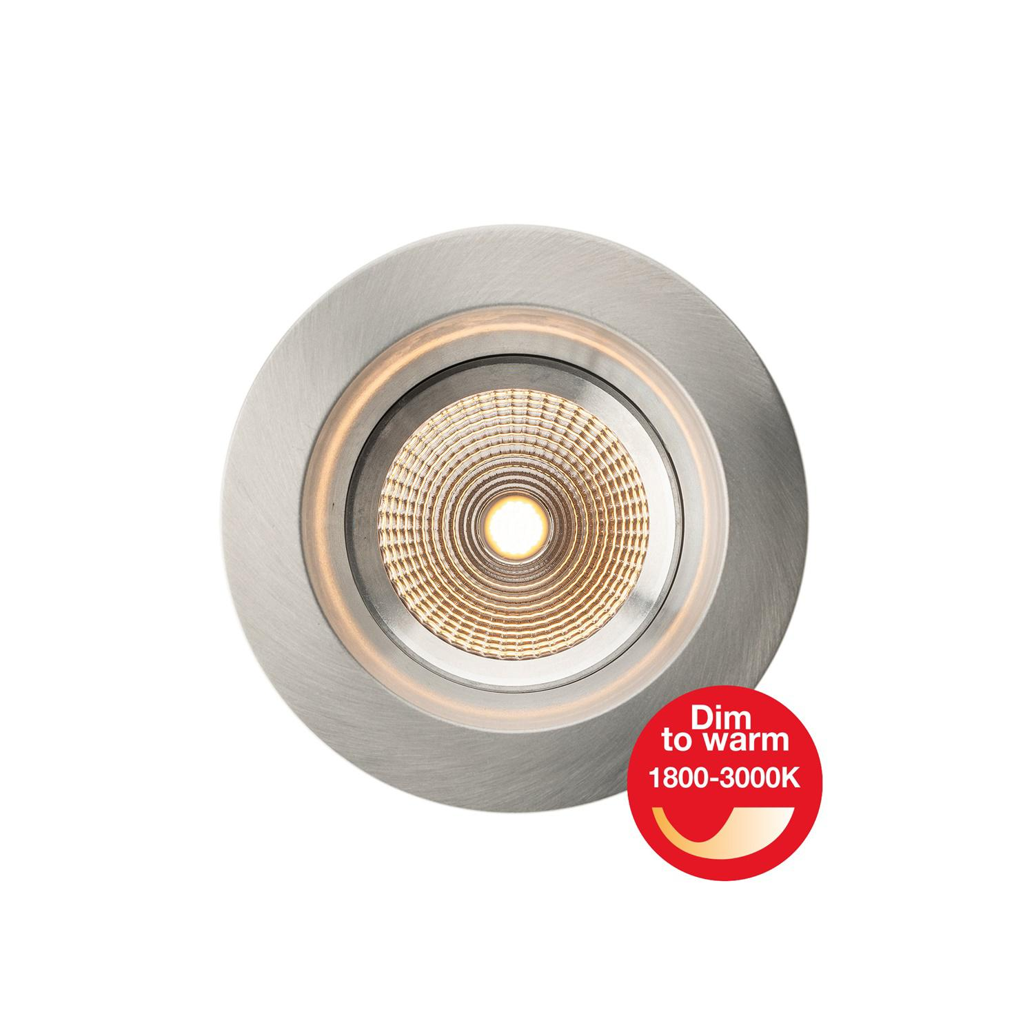SLC LED-Einbaustrahler ONE SOFT Alu (mit Dim-To-Warm) SLC1152