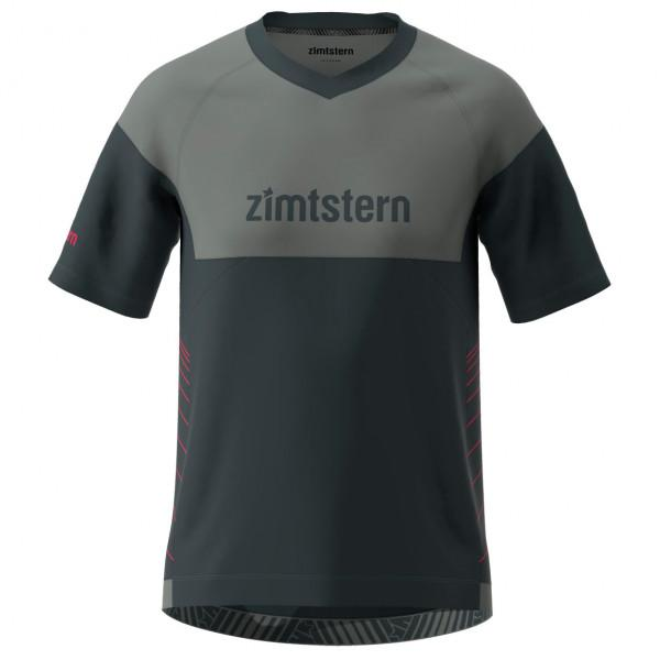 Zimtstern - Bulletz Shirt S/S - Radtrikot Gr M schwarz/grau