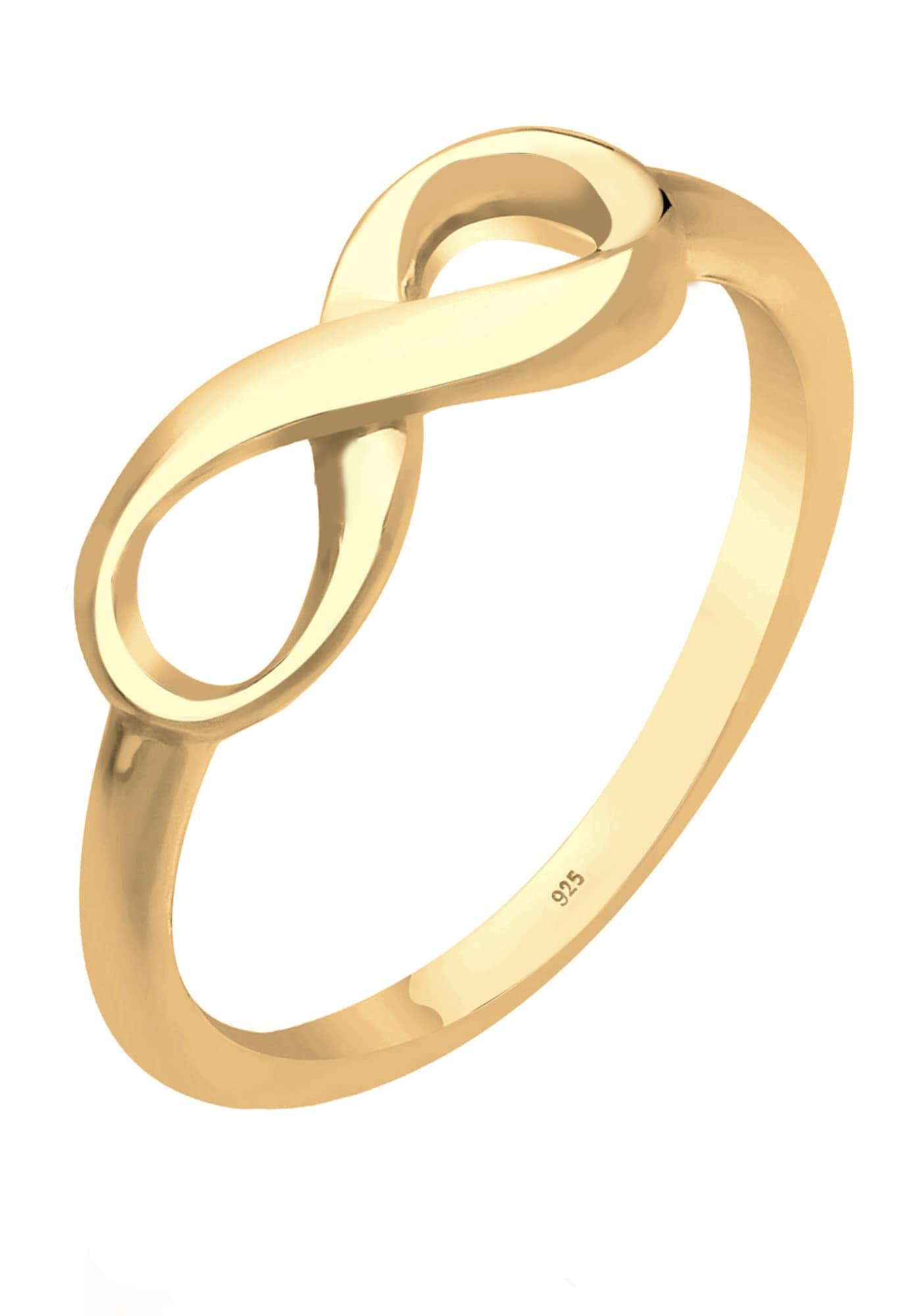 ELLI Ring 'Infinity' gold