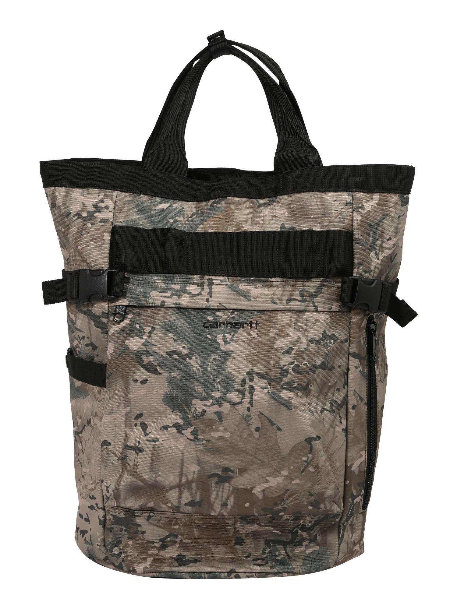 Carhartt WIP Rucksack braun / schwarz / grau