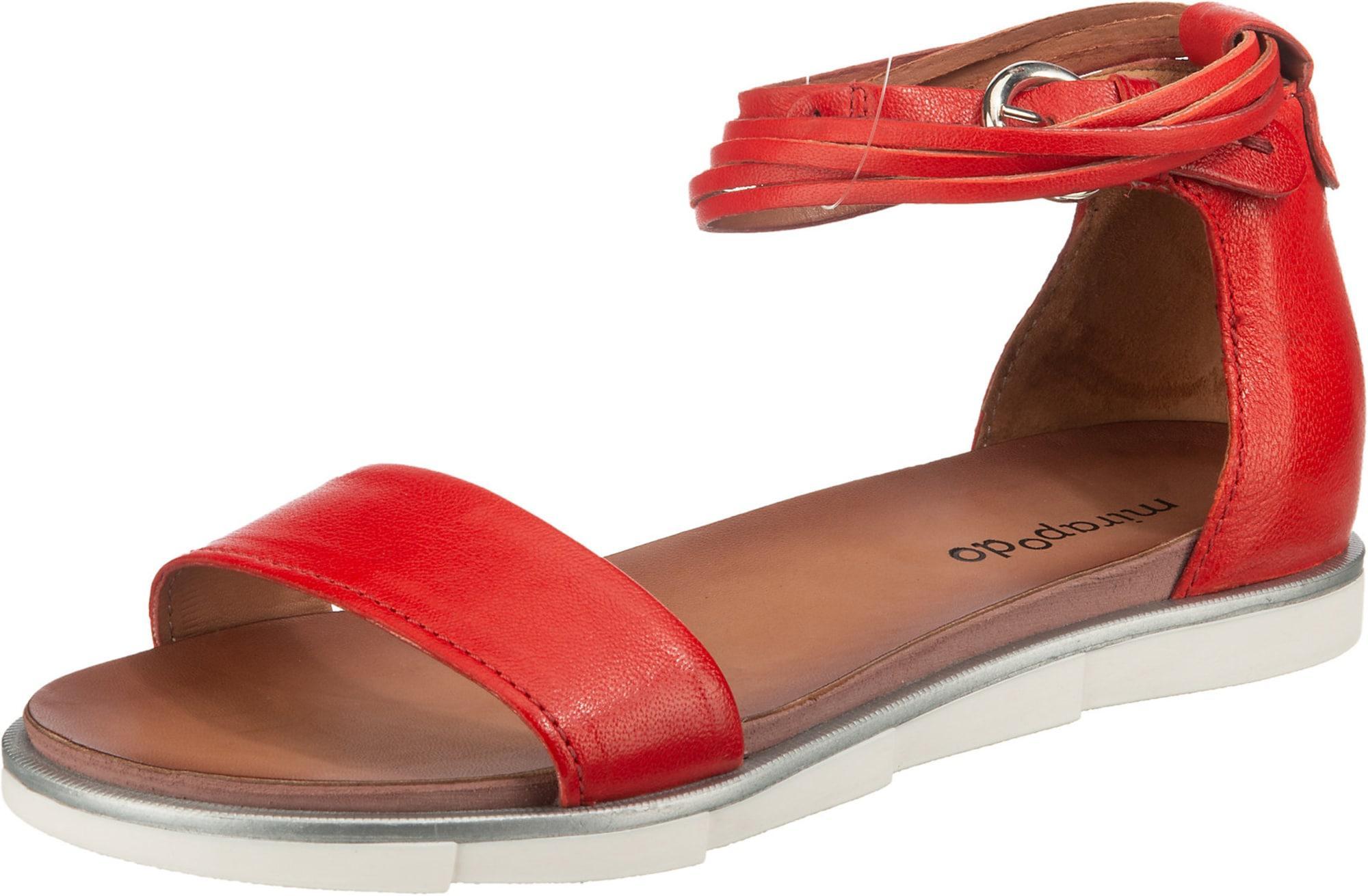 Mirapodo Sandale rot