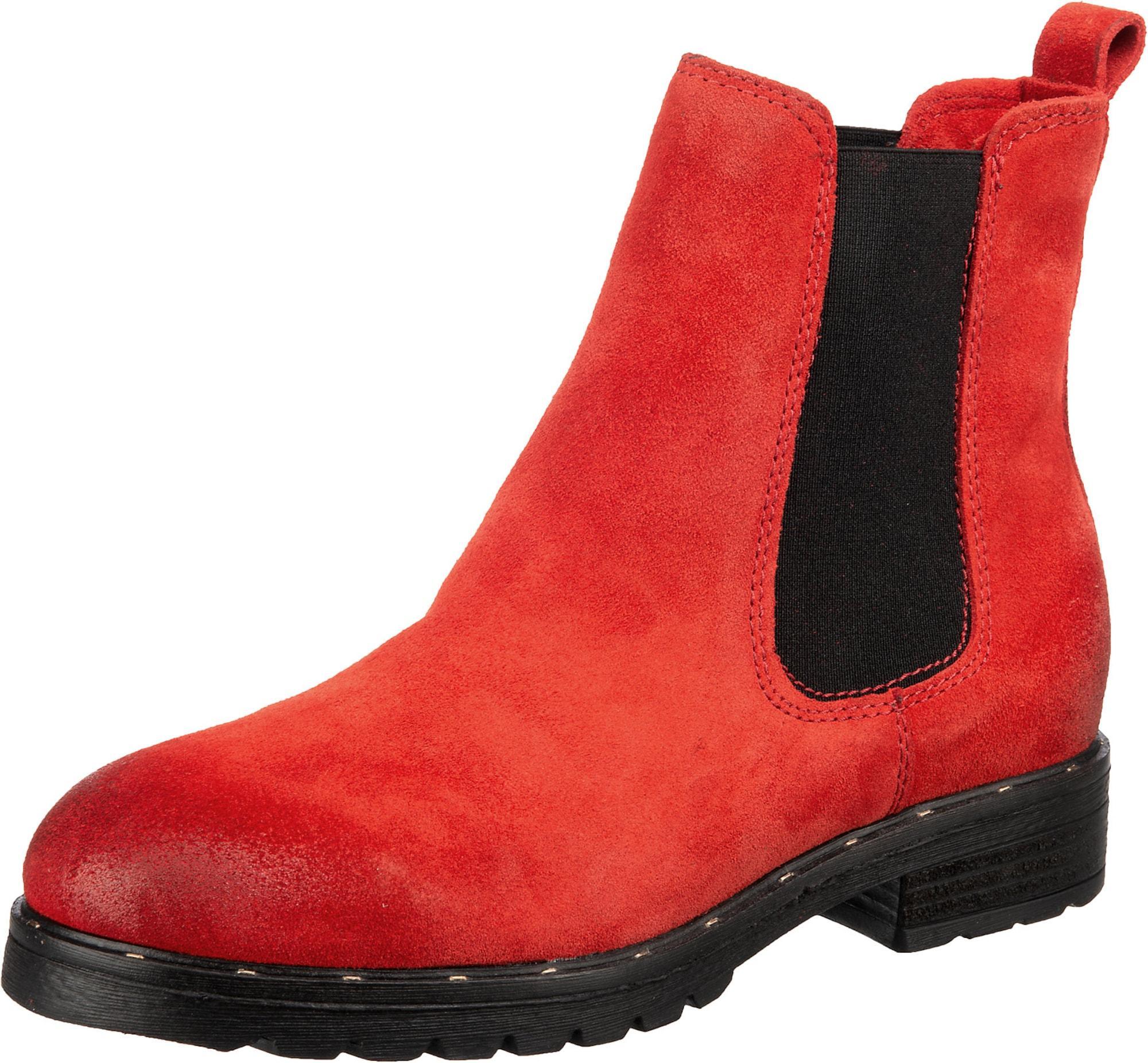 Mirapodo Schuh rot / schwarz