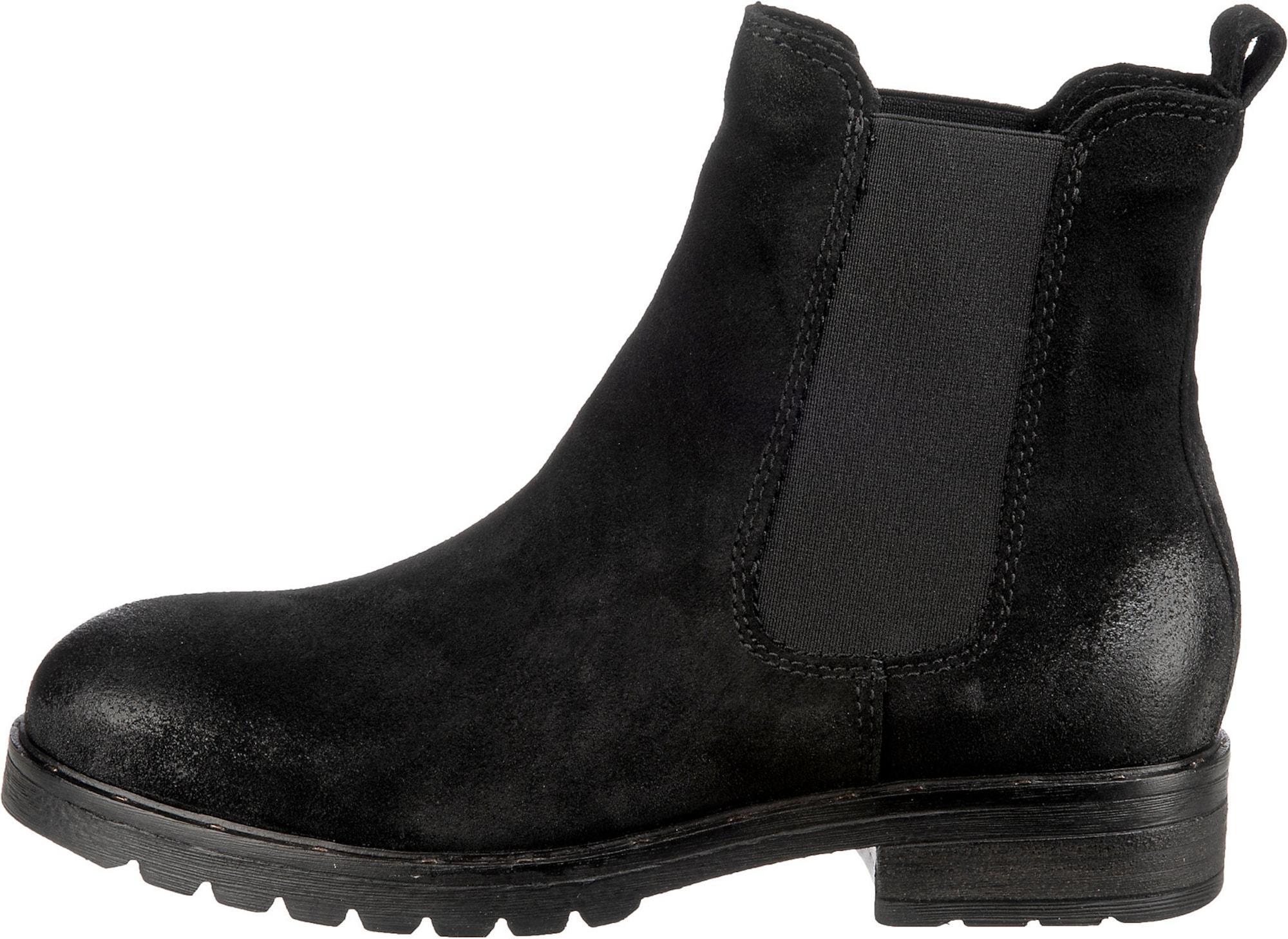 Mirapodo Chelsea Boots schwarz