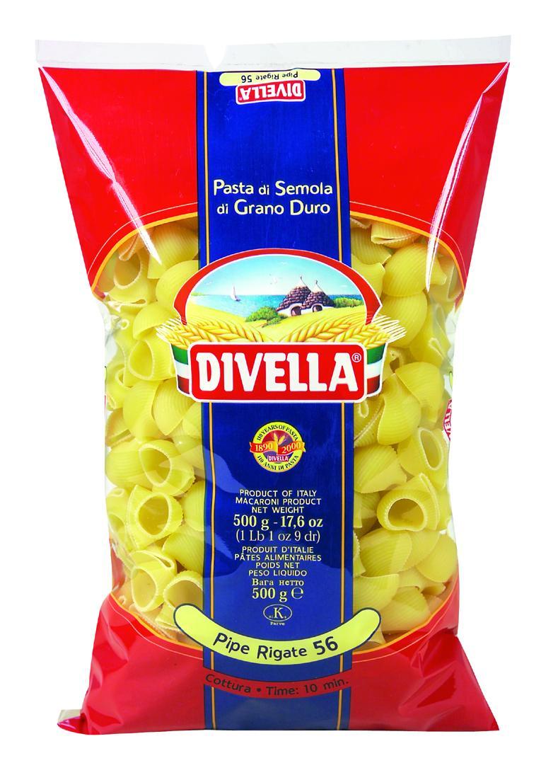 Divella Pipe Rigate N°56