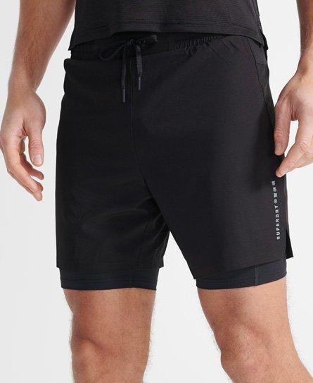 Sport Doppellagige Shorts
