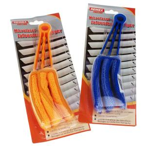 REINEX Jalousien-Reiniger Mikrofaser, Zur Reinigung von Jalousien und Lamellen, 1 Stück, farbig sortiert