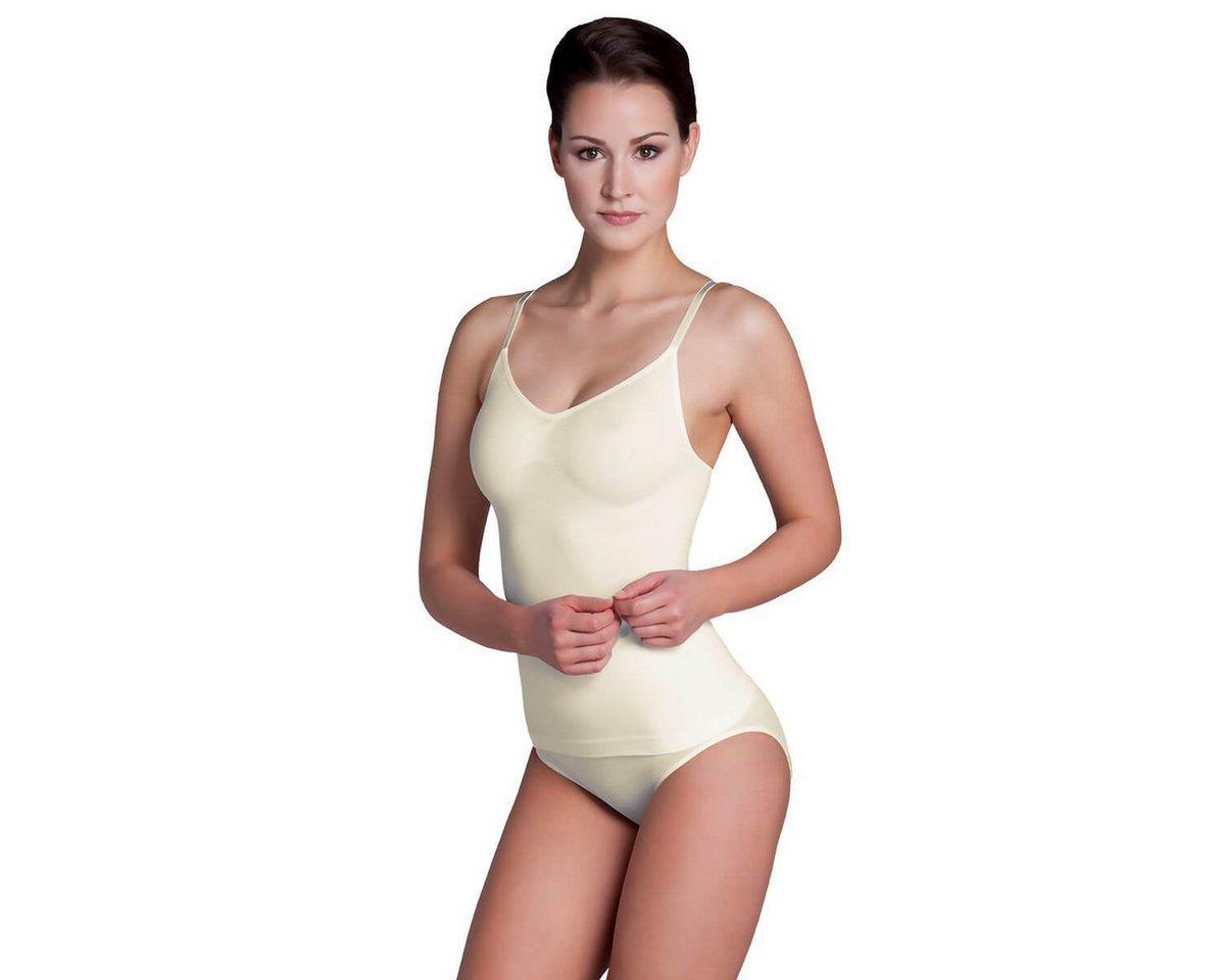 Miss Perfect Shapinghemd »36630«, figurformendes und nahtloses Unterhemd mit Multi-Cups ohne Bügel in Größe XS-2XL (36-46), gelb