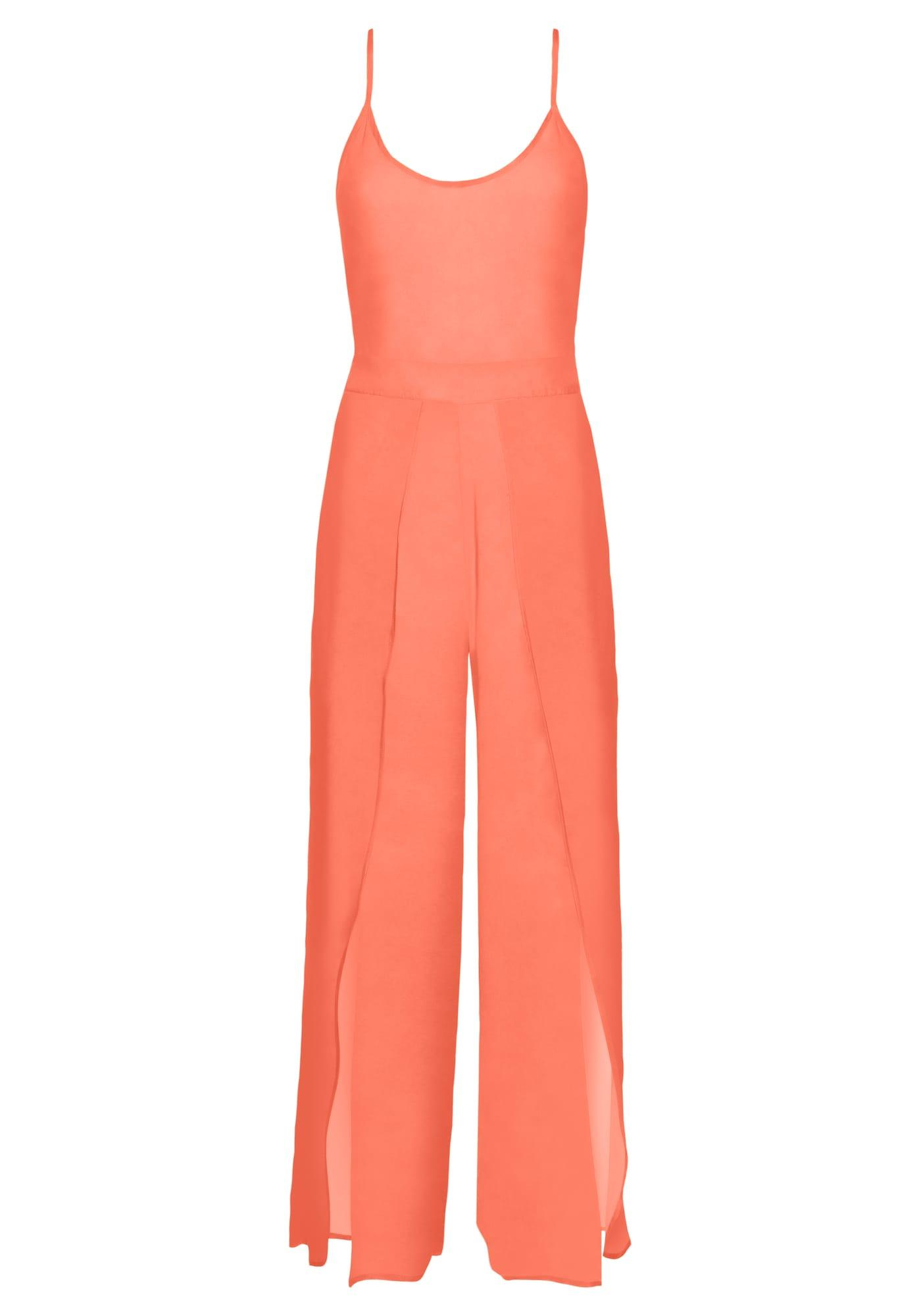 BUFFALO Jumpsuit orangerot