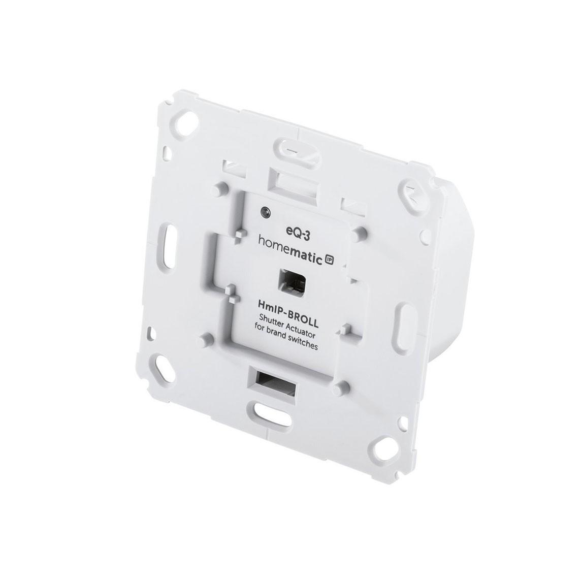 Homematic IP Rollladenaktor für Markenschalter - Weiß