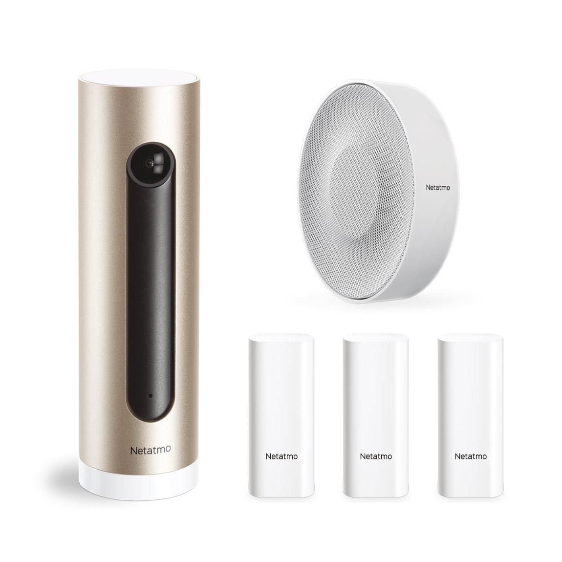 Netatmo smarte Alarmanlage mit Kamera - Weiss
