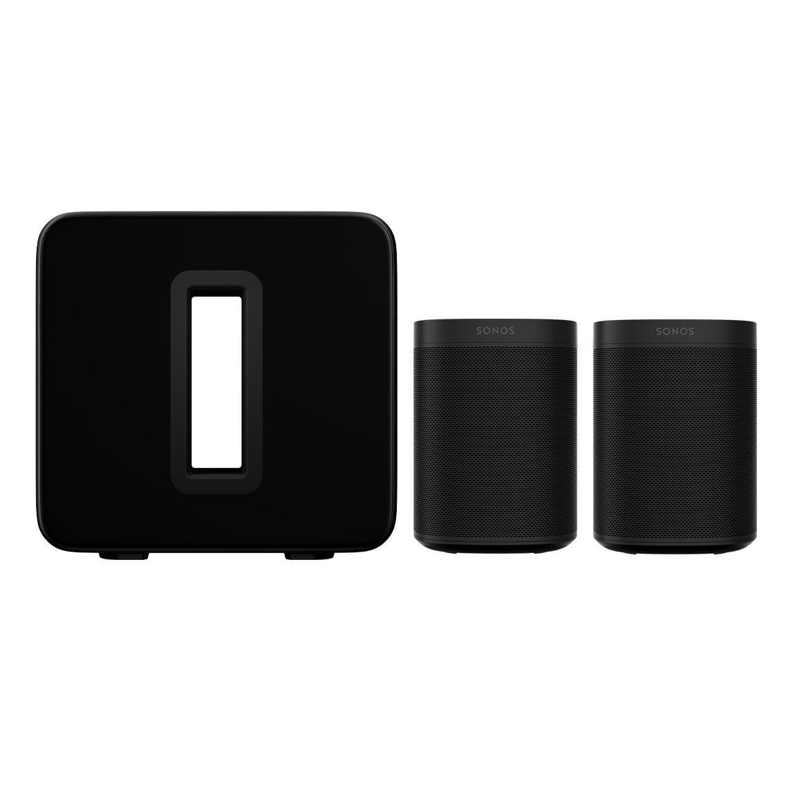 Sonos One SL Stereo Set + SONOS SUB