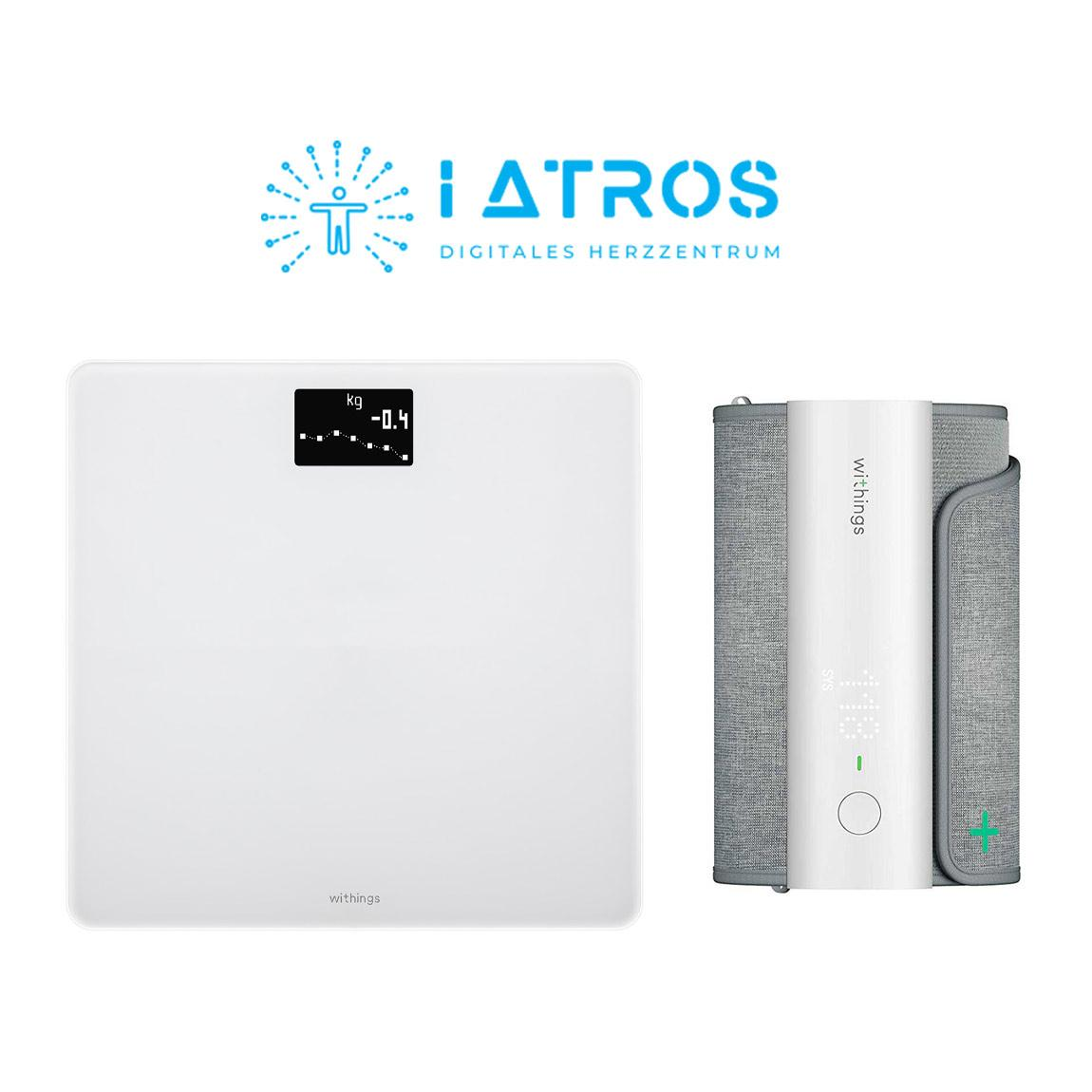 Withings BPM Connect + Withings Body + iATROS Service