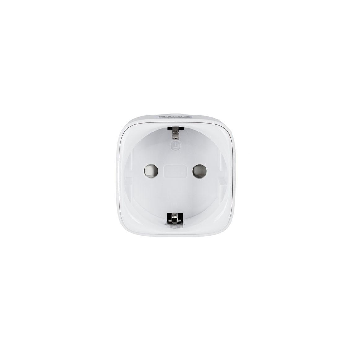 ABUS Z-Wave Funk-Steckdose - Smarter Zwischenstecker - Weiß