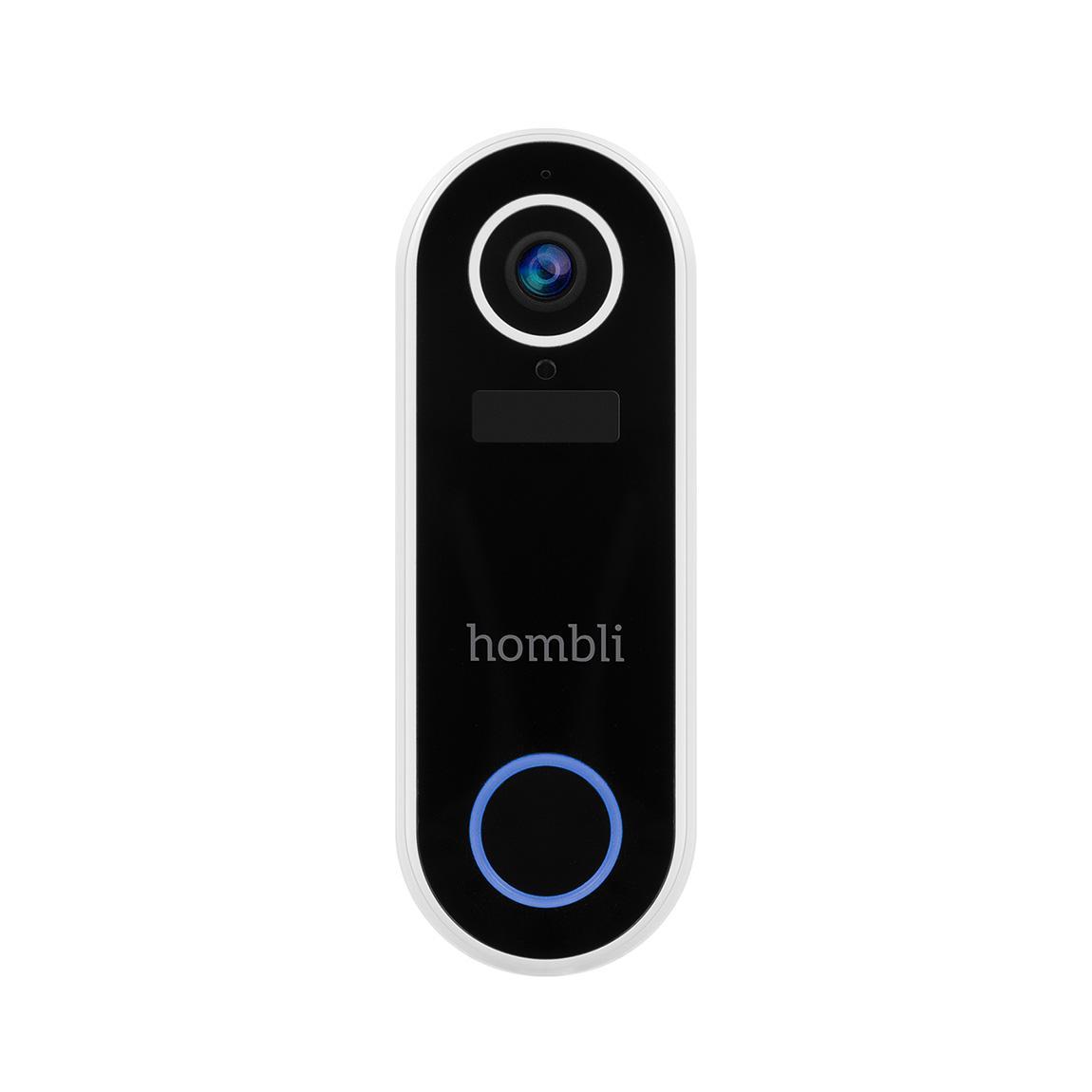 Hombli Smart Doorbell 2 - Smarte Video-Türklingel - white