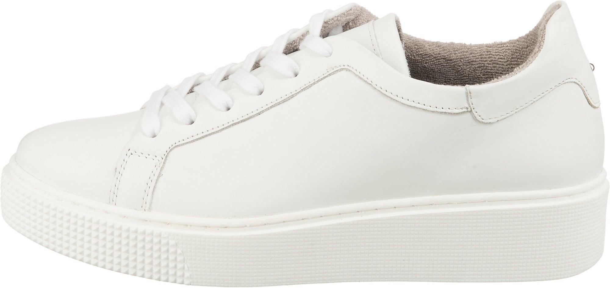 Mirapodo Sneaker weiß