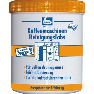 Dr. Becher Kaffeemaschinen ReinigungsTabs , Reinigungstabletten zur Entfernung von Kaffeölen und -fette, 1 Dose = 150 Tabs á 1,6 g