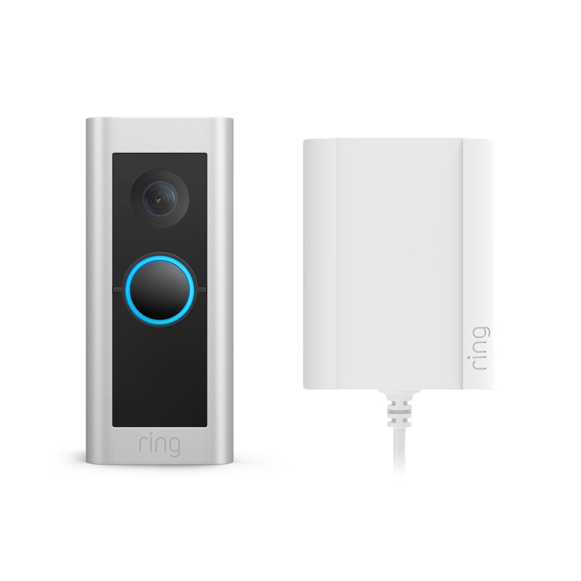 Ring Video Doorbell Pro 2 - Plugin - silber