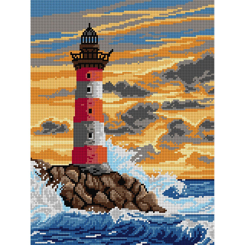 "Gobelin ""Leuchtturm"", 30 x 40 cm"