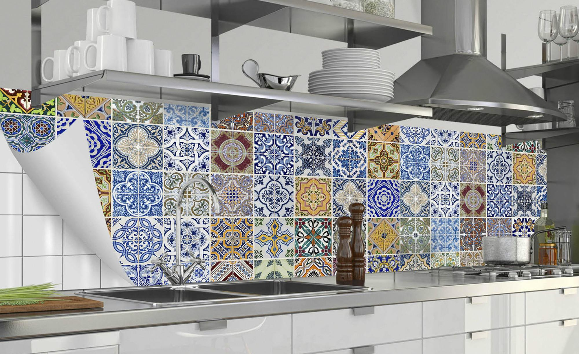 Küchenrückwand-Folie Fixy Pablo Fliese - Sconto