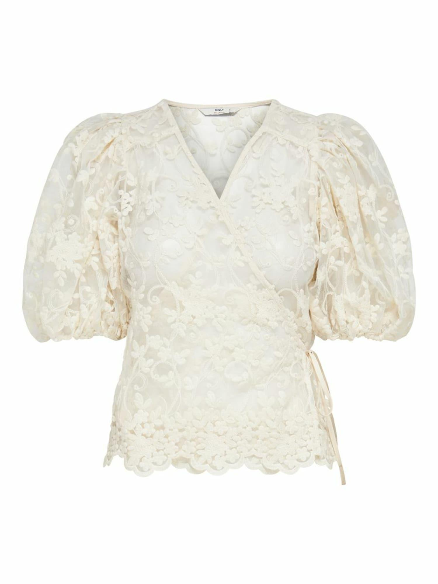 ONLY Bluse creme