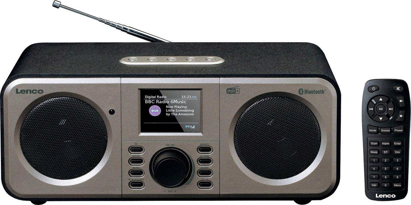 Lenco »DAR-030« Digitalradio (DAB) (Digitalradio (DAB), FM-Tuner)