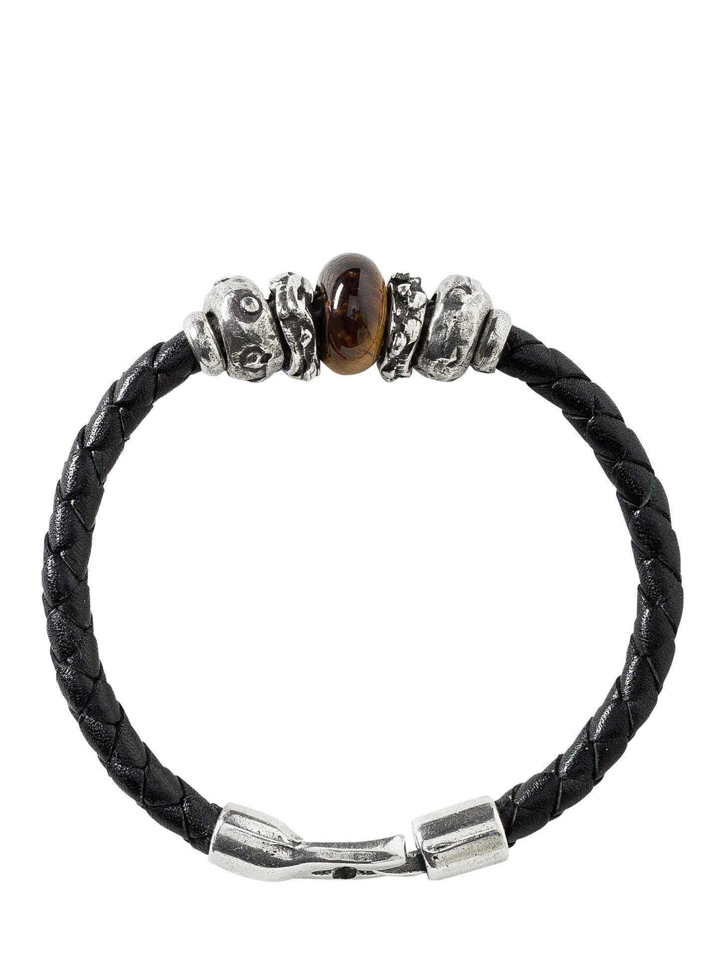 Herren Katalonisches Armband schwarz L, M