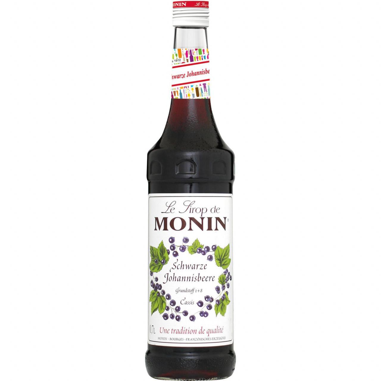 Monin Schwarzer Johannisbeersirup 1x 0,7l