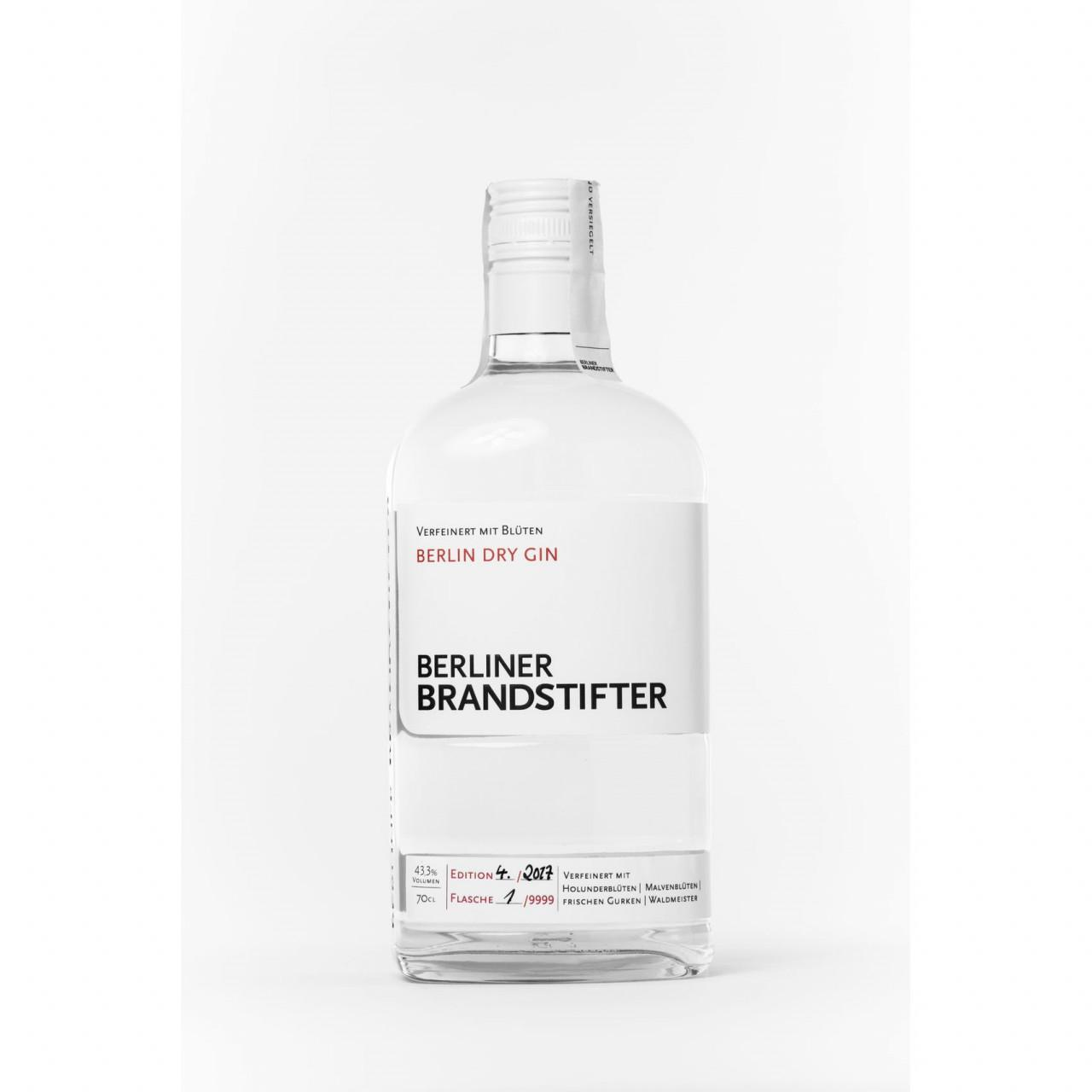 Berliner Brandstifter Berlin Dry Gin 43,3% 0,7l