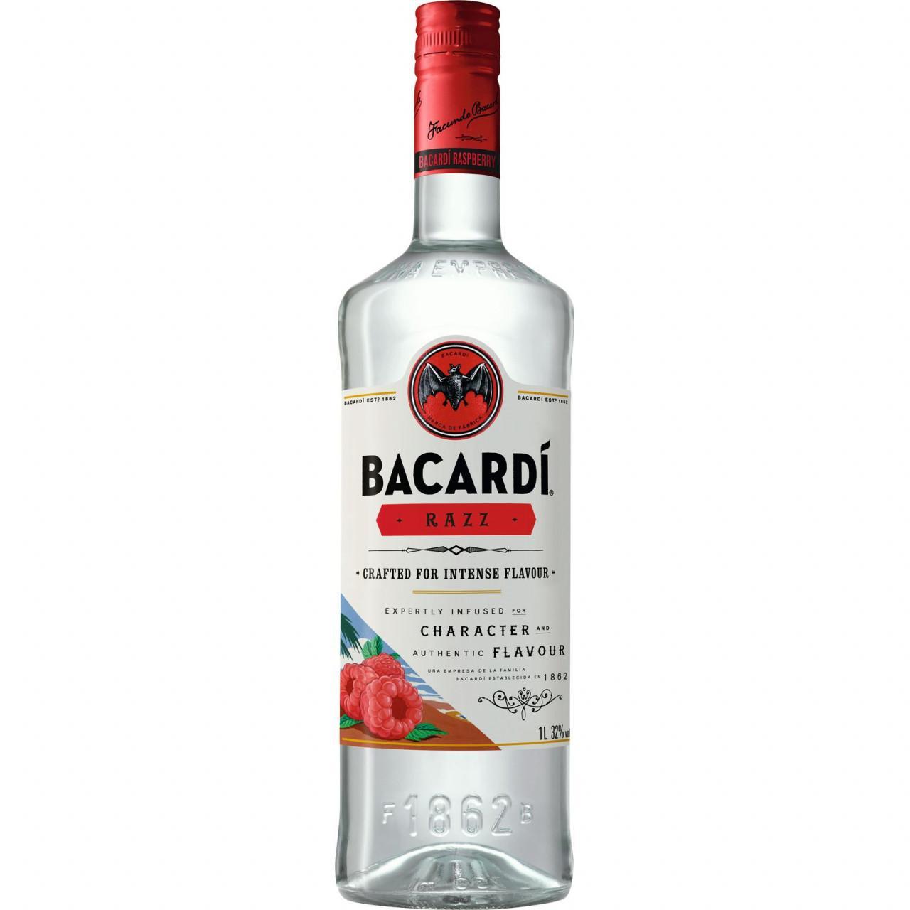 Bacardí Razz Rum 32% 1l