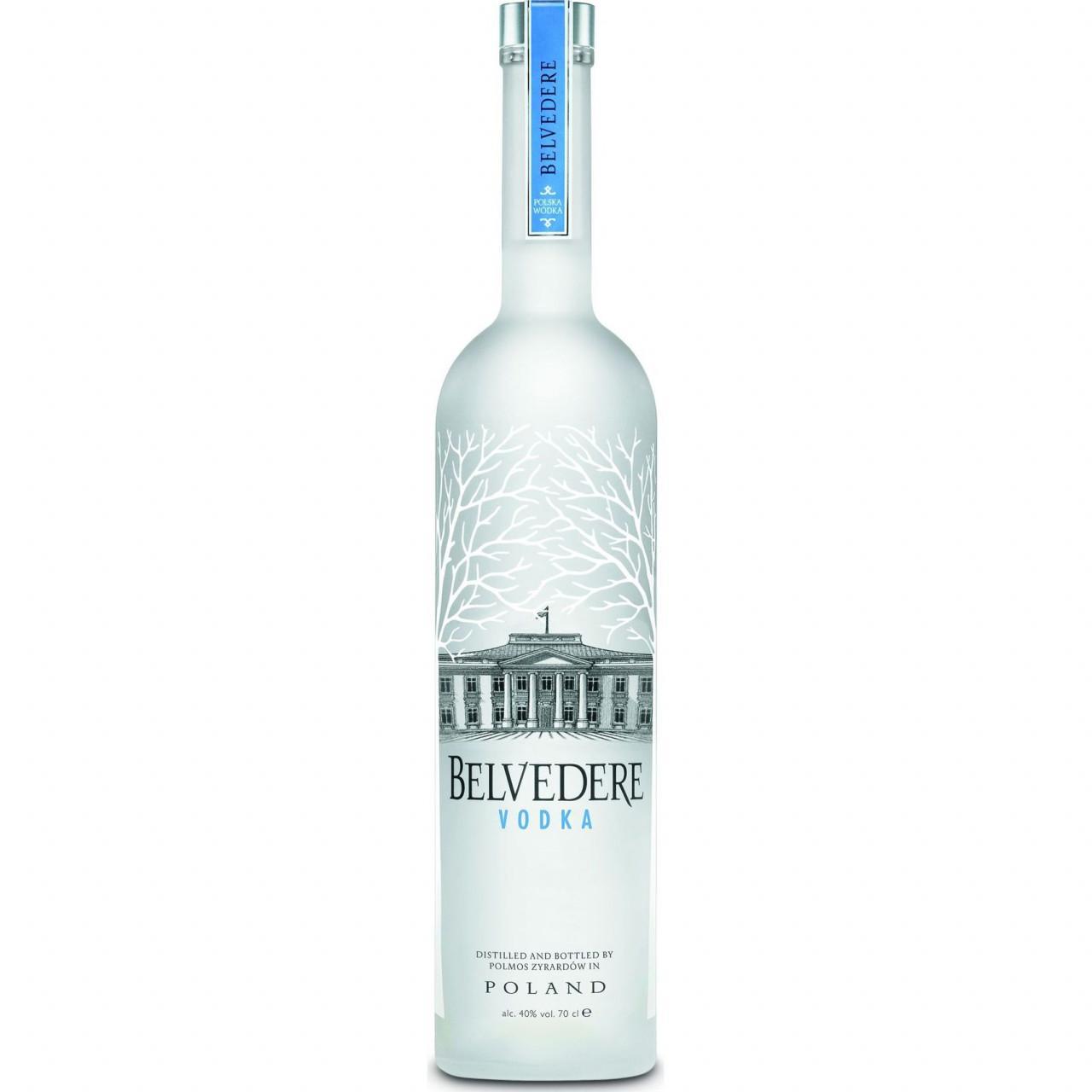 Belvedere Wodka aus Polen 40% 0,7l