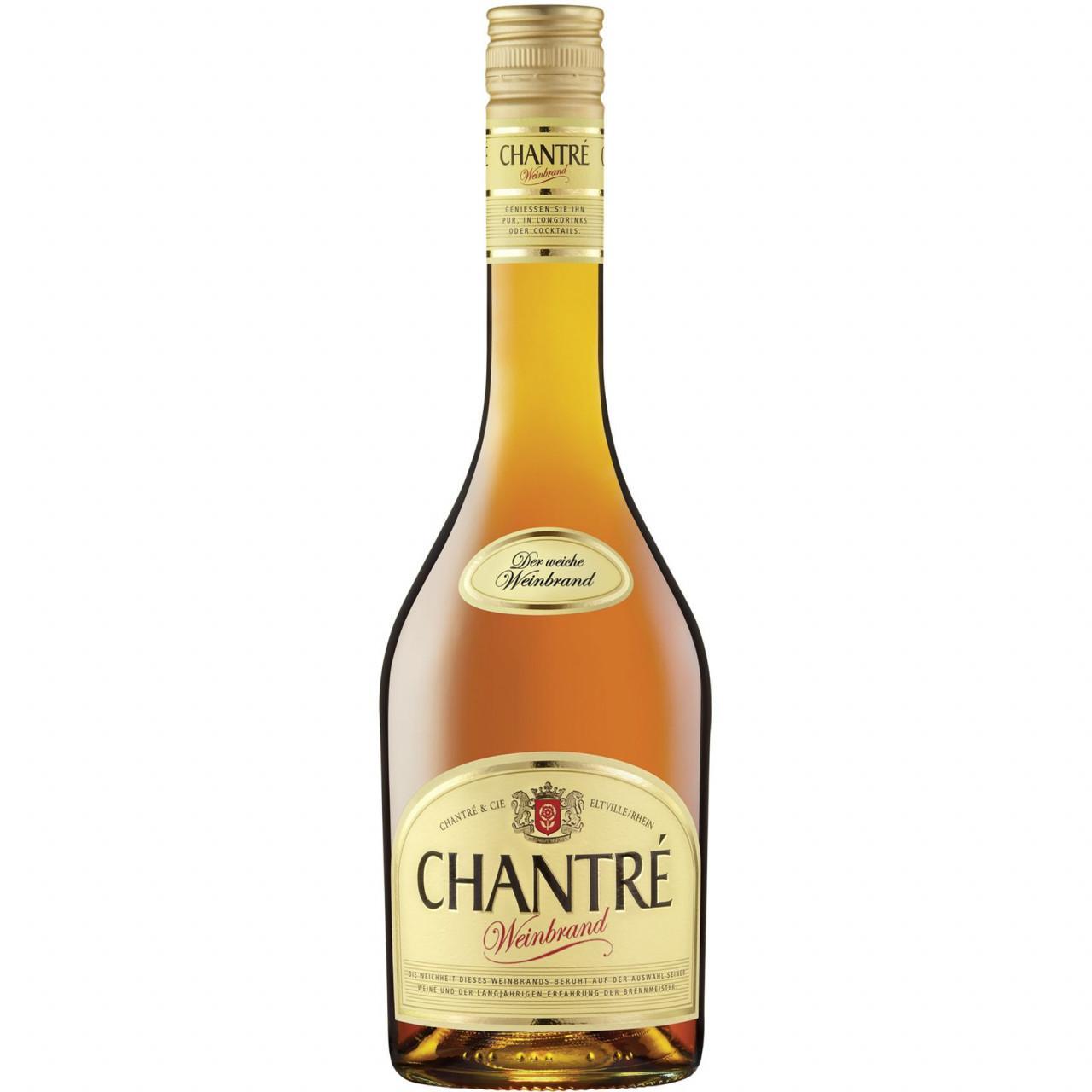 Chantré Weinbrand 36% 0,7l