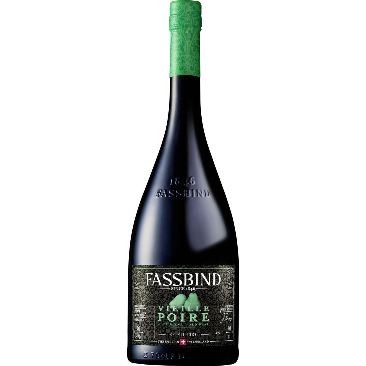 Fassbind Vieille Poire Barrique 40% 0,7l