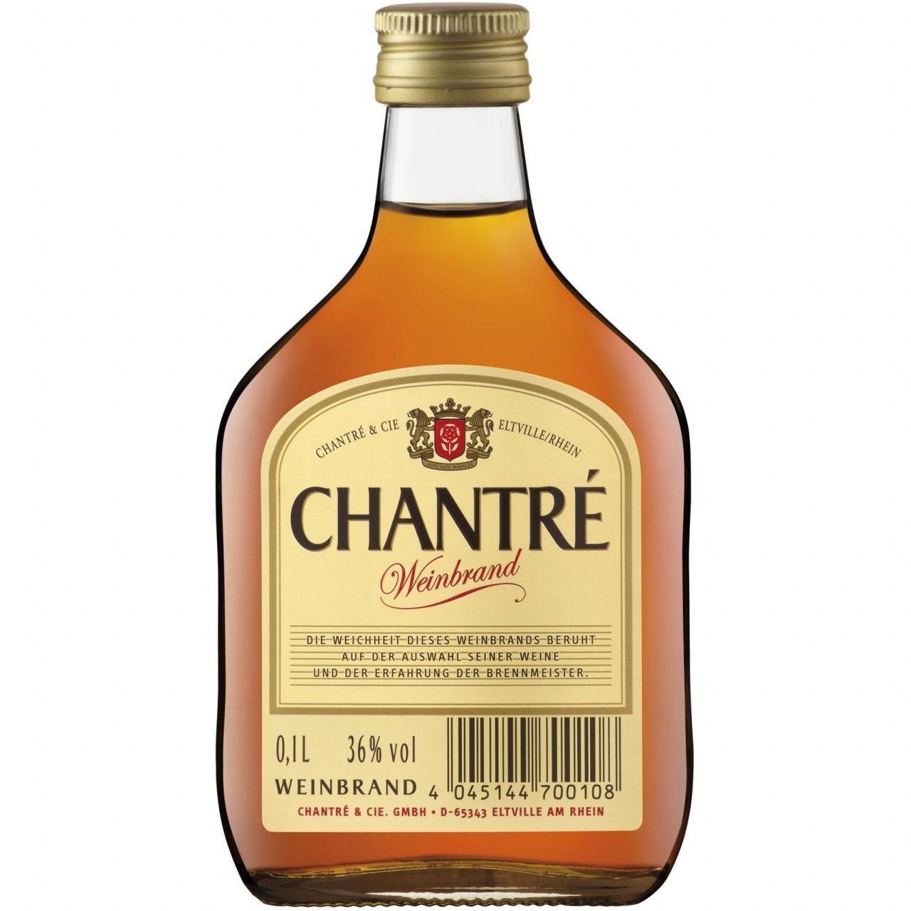 Chantré Weinbrand 36% 0,1l