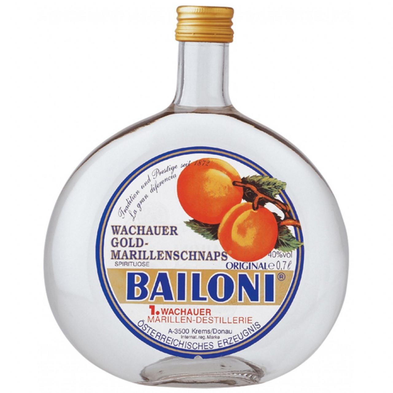 Bailoni Original Gold-Marillenschnaps 40% 0,7l