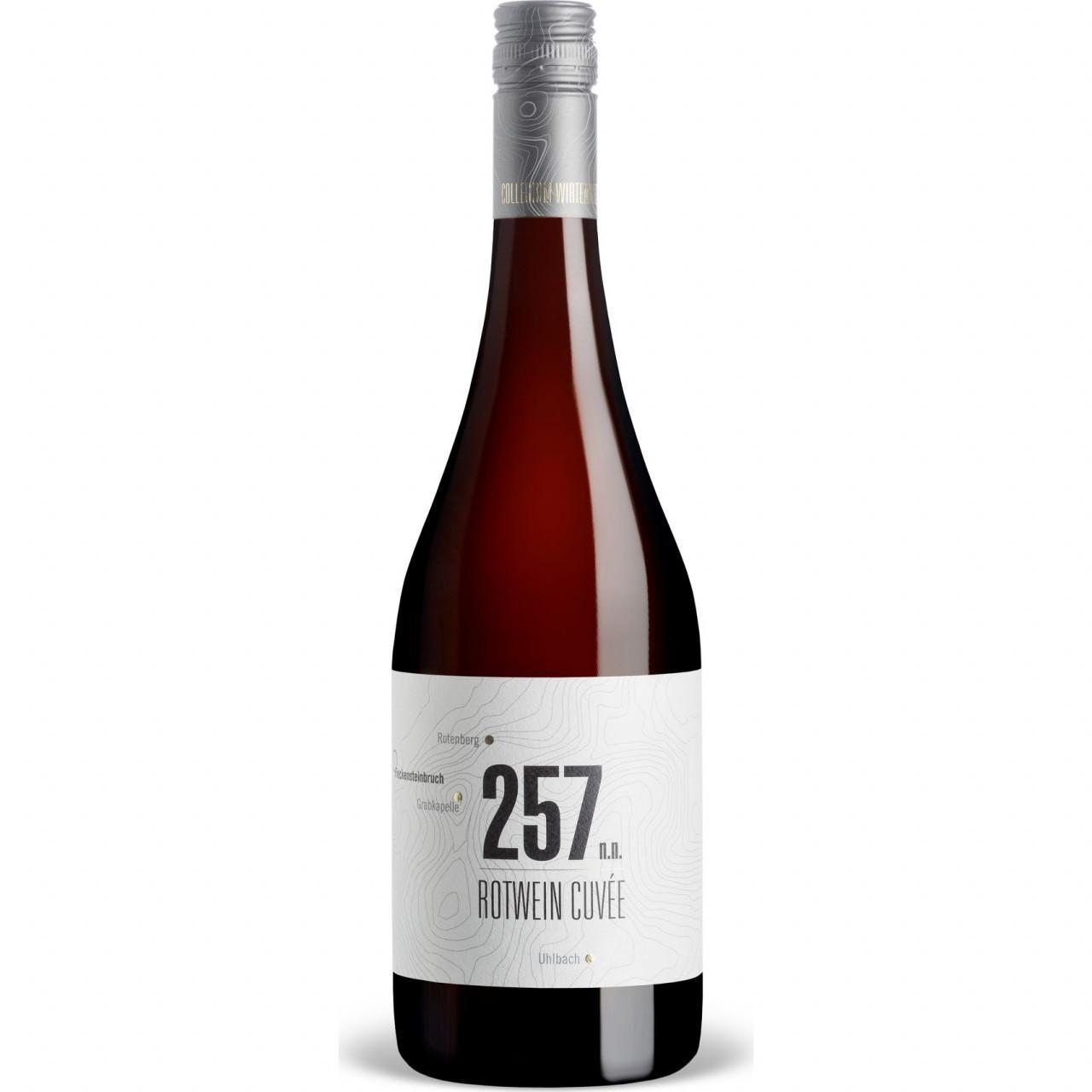 257 n.n. Rotwein-Cuveé trocken QbA 2018