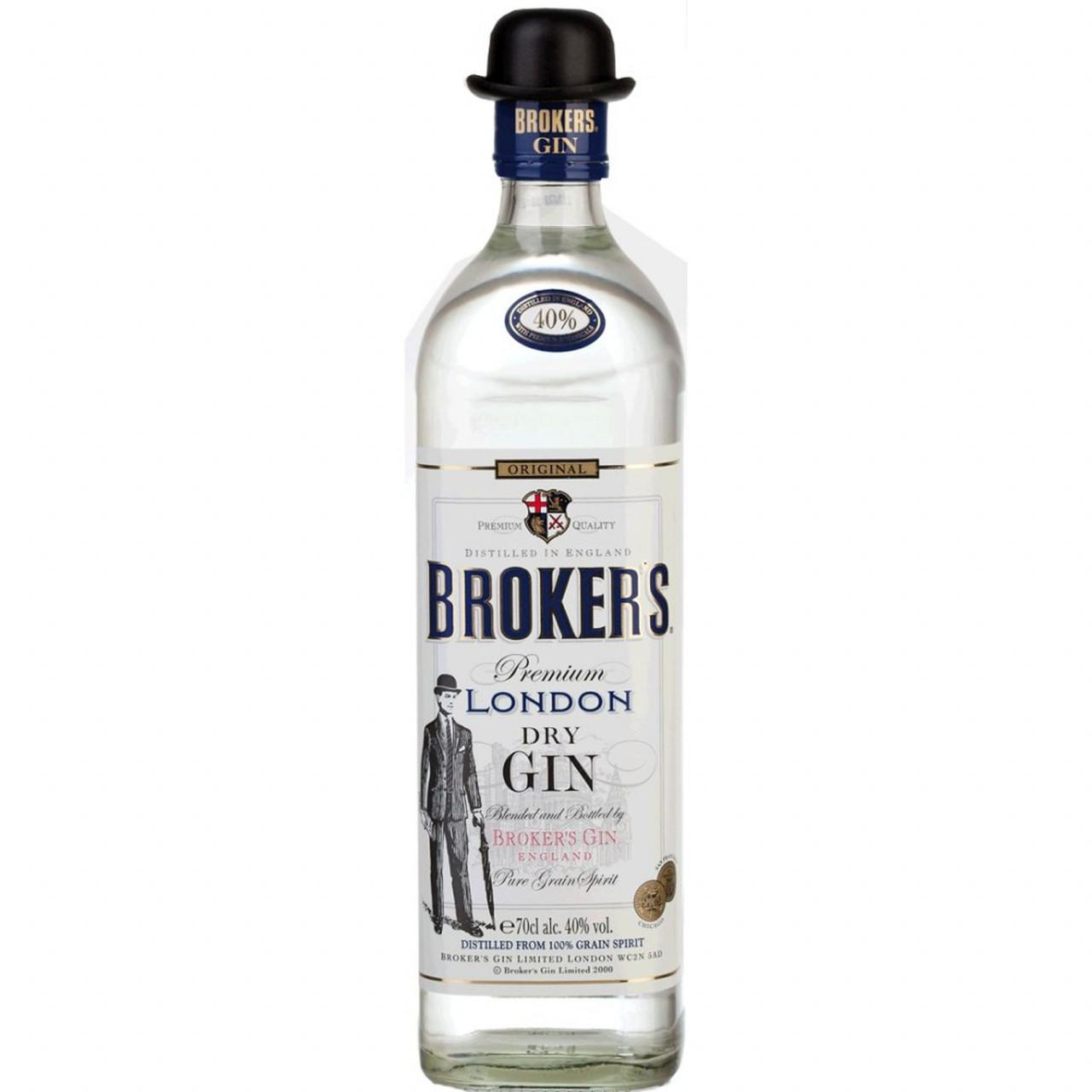 Broker's London Dry Gin 40% 0,7l