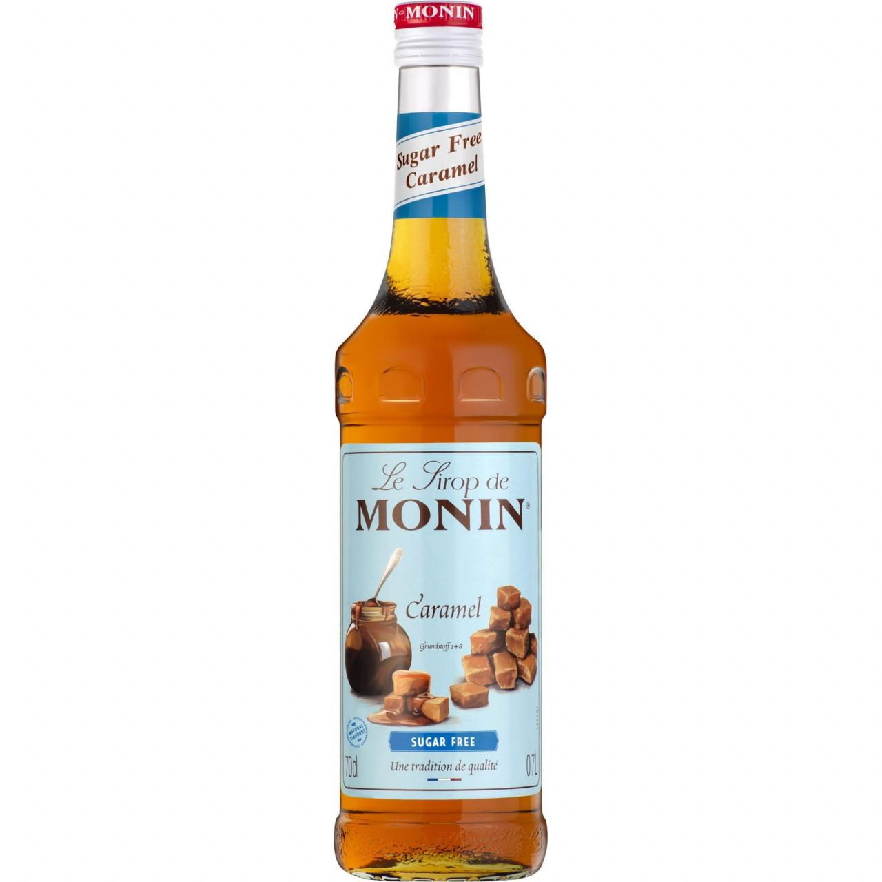 Monin LIGHT Karamelsirup 1x 0,7l