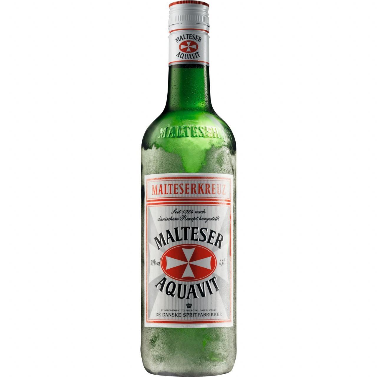 Malteserkreuz Aquavit 40% 0,7l