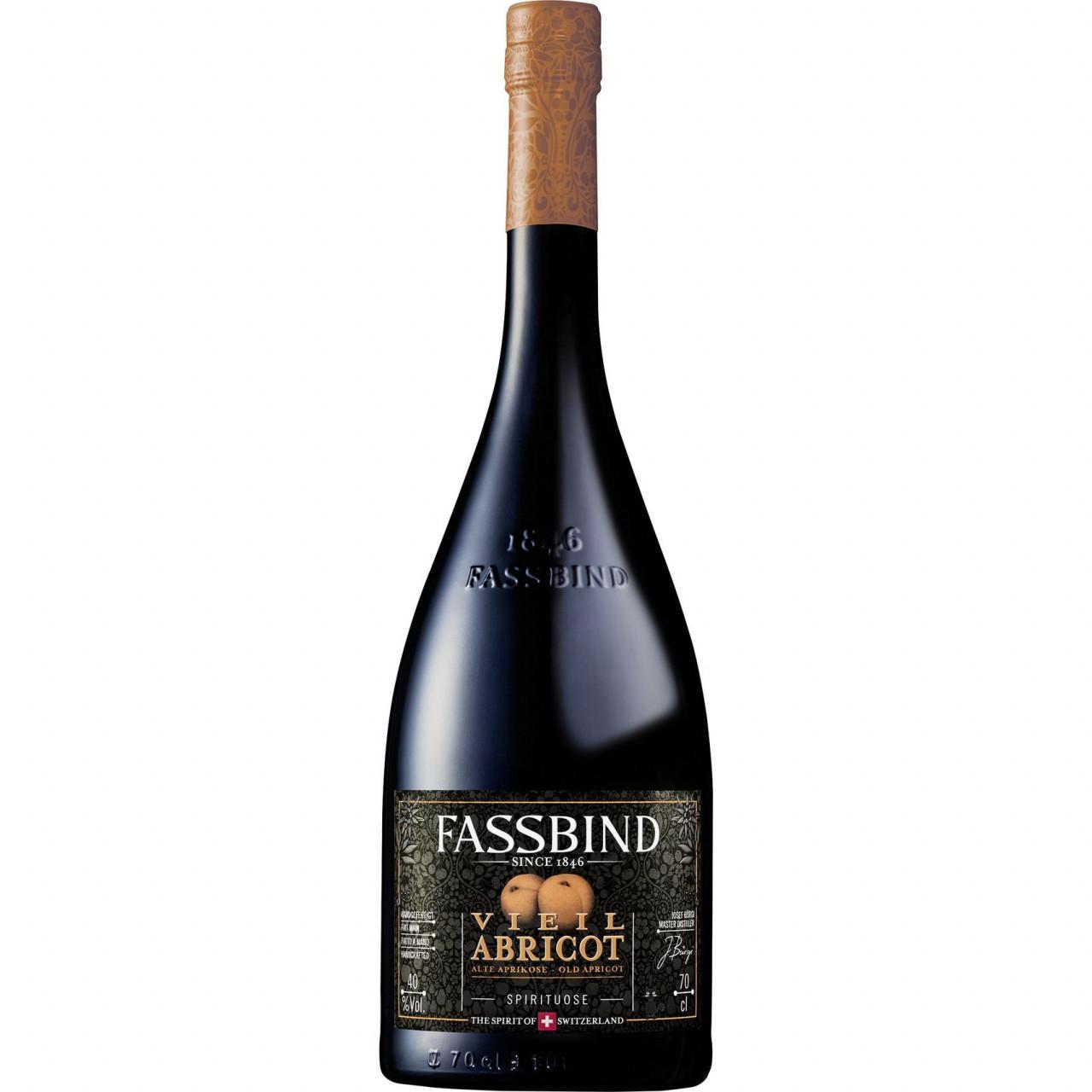 Fassbind Vieil Abricot Barrique 40% 0,7l