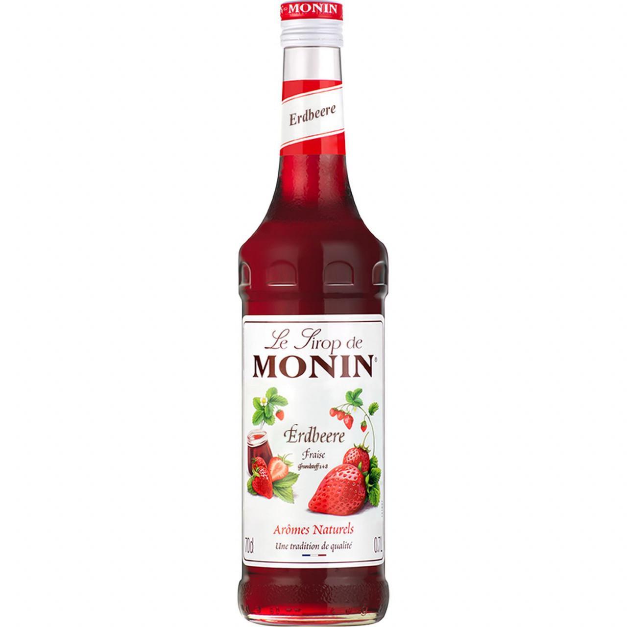Monin Erdbeersirup 1x 0,7l