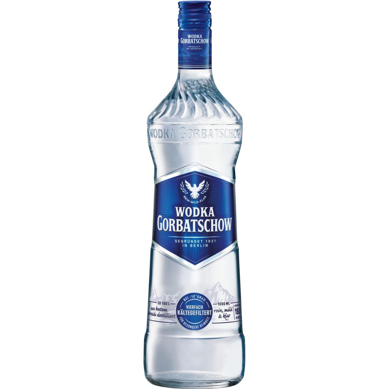 Wodka Gorbatschow 37,5% 1l
