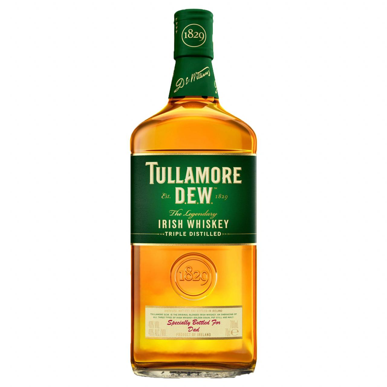 Tullamore Dew Irish Whisky 40% 0,7l