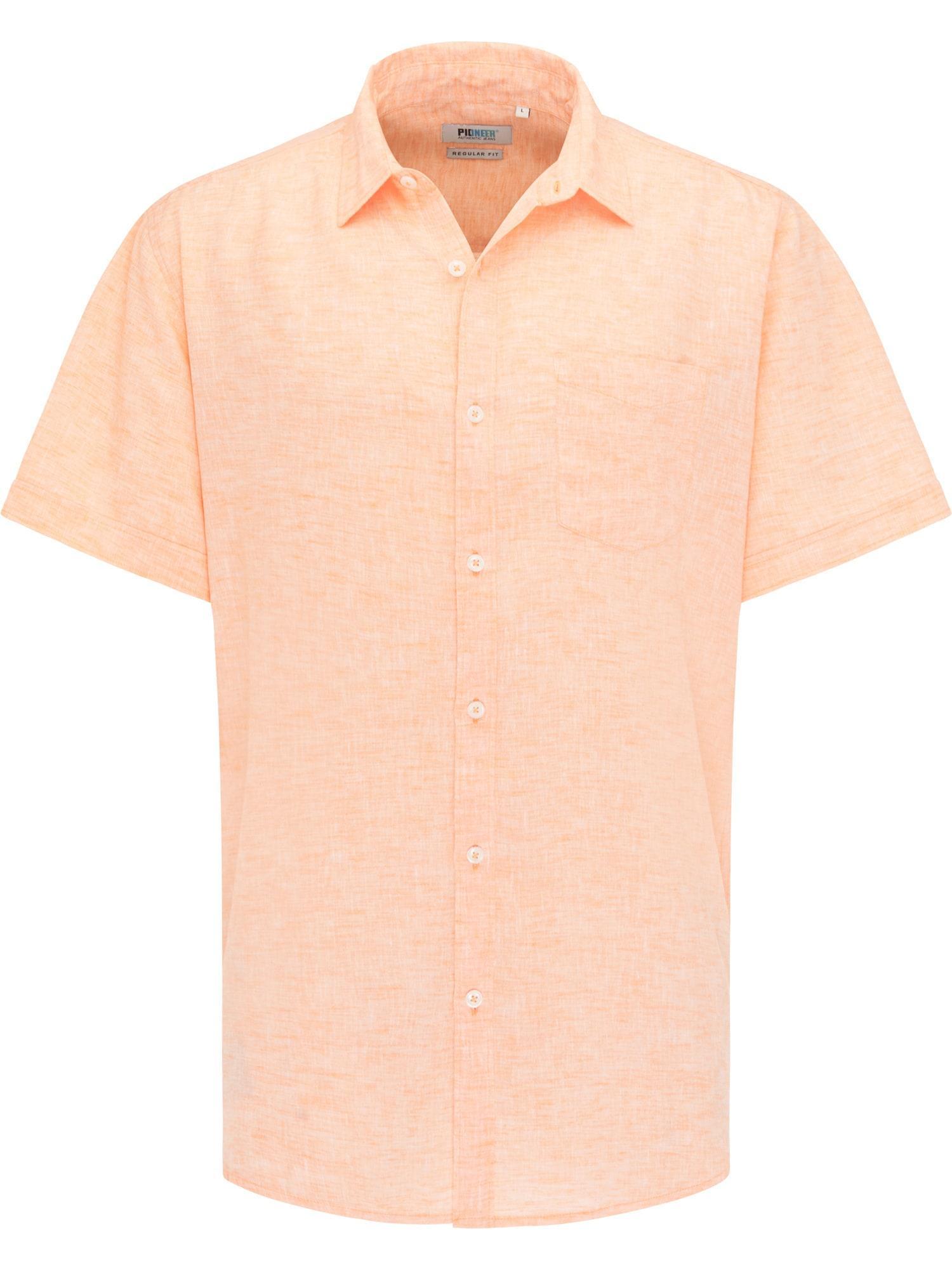 PIONEER Hemd apricot