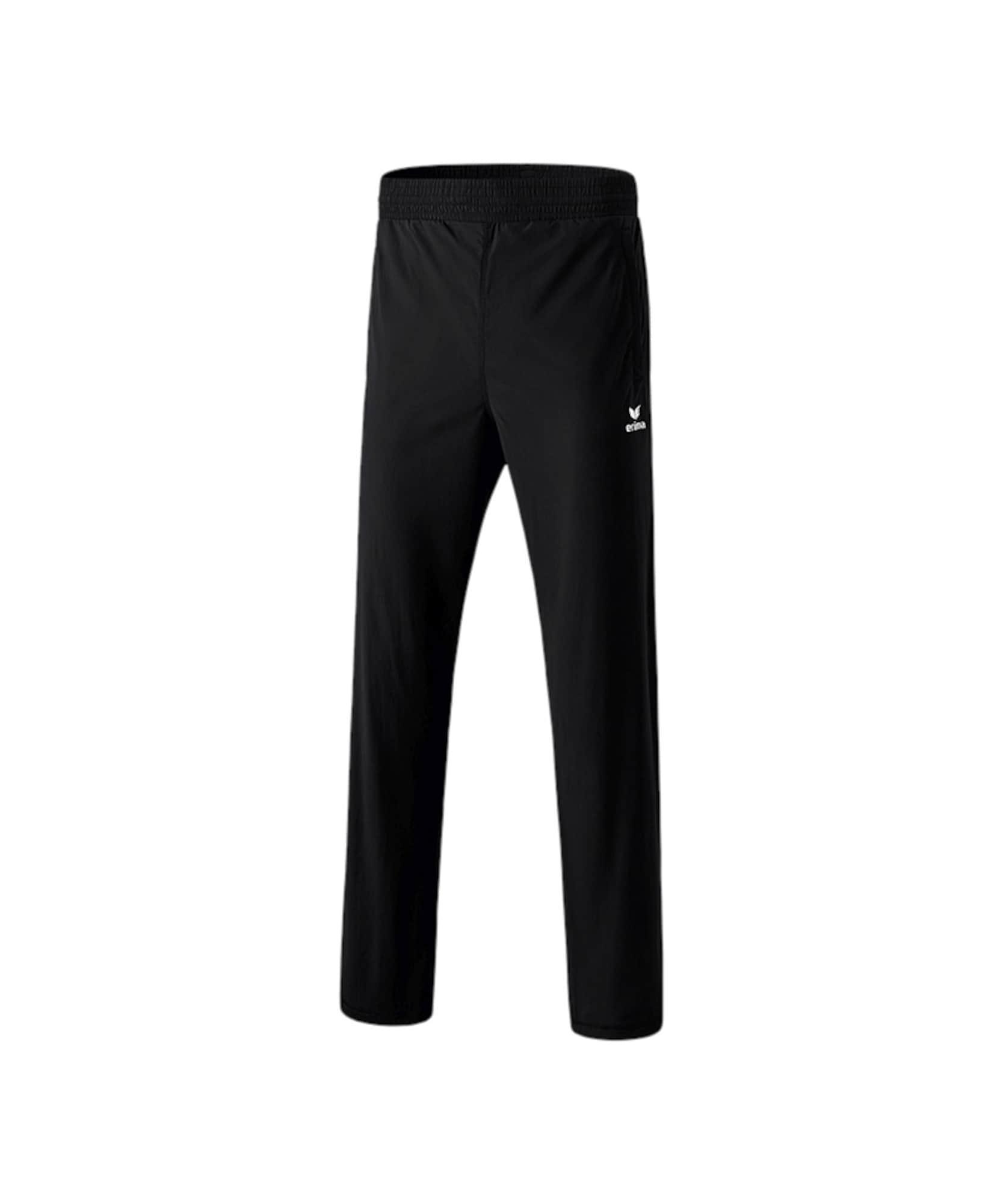 ERIMA Sporthose schwarz