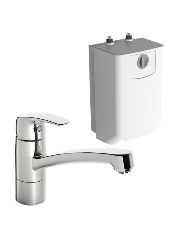 Oras safira kitchen faucet with water heater