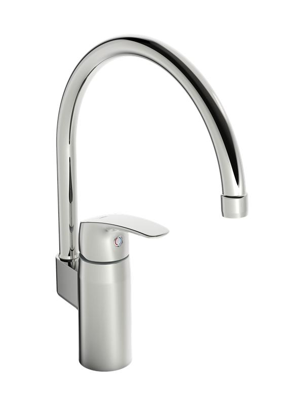 Oras safira kitchen faucet with high spout
