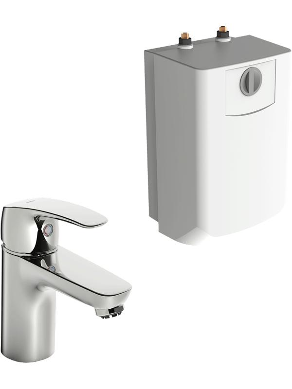 Oras safira washbasin faucet with water heater