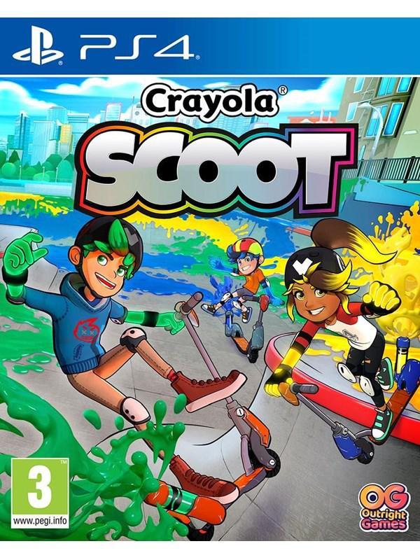 Crayola Scoot - Sony PlayStation 4 - Sport - PEGI 3
