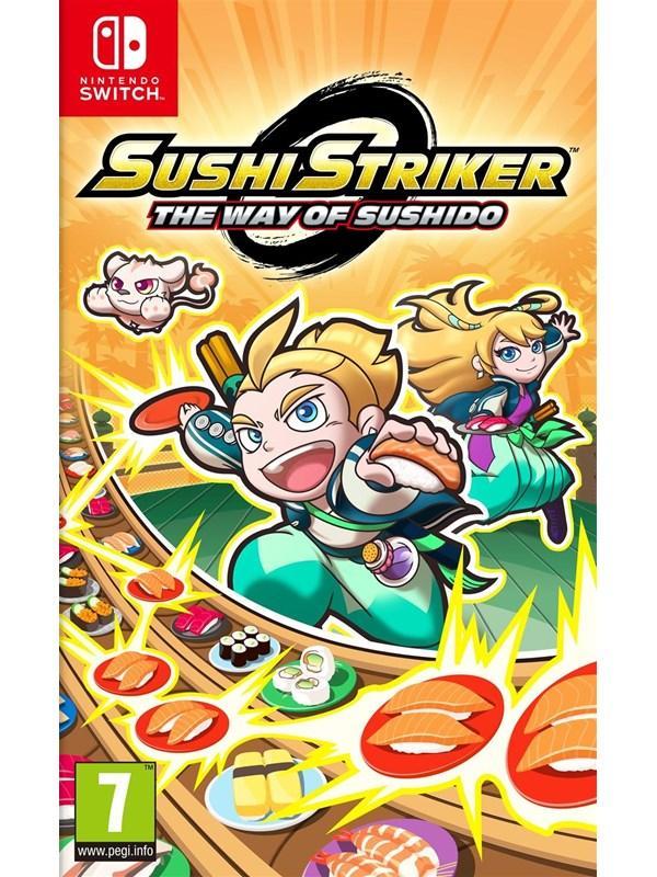 Sushi Striker: The Way of Sushido - Nintendo Switch - Puzzle - PEGI 7