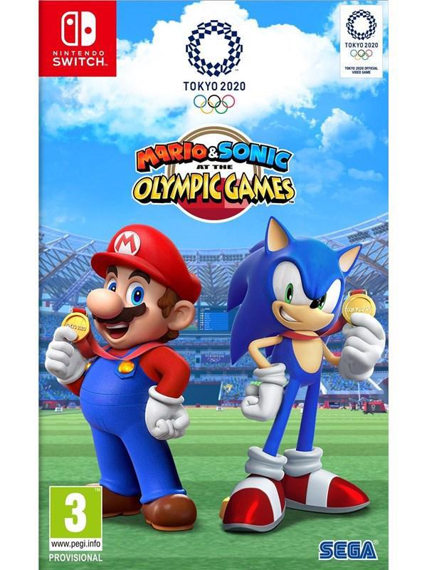 Mario & Sonic bei den Olympischen Spielen: Tokyo 2020 - Nintendo Switch - Sport - PEGI 3